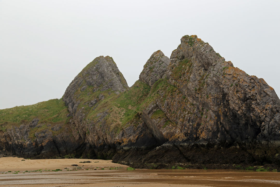 Three Cliffs Bay Wales