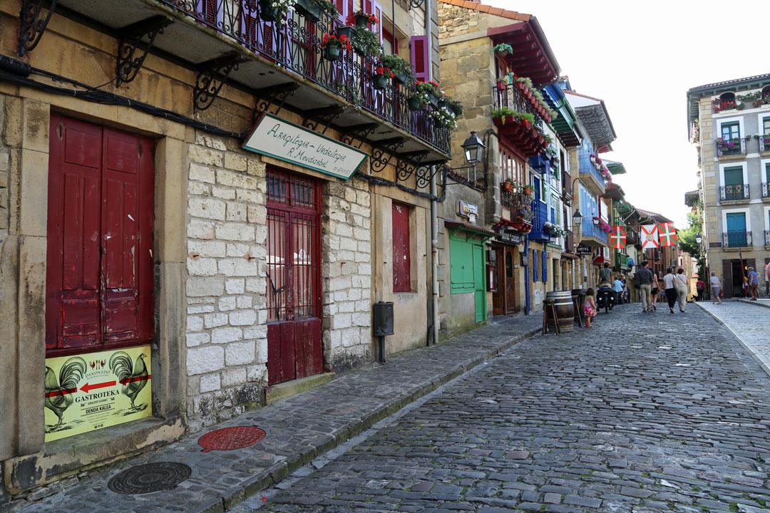 Rundreise Nordspanien - Baskenland: Hondarriba