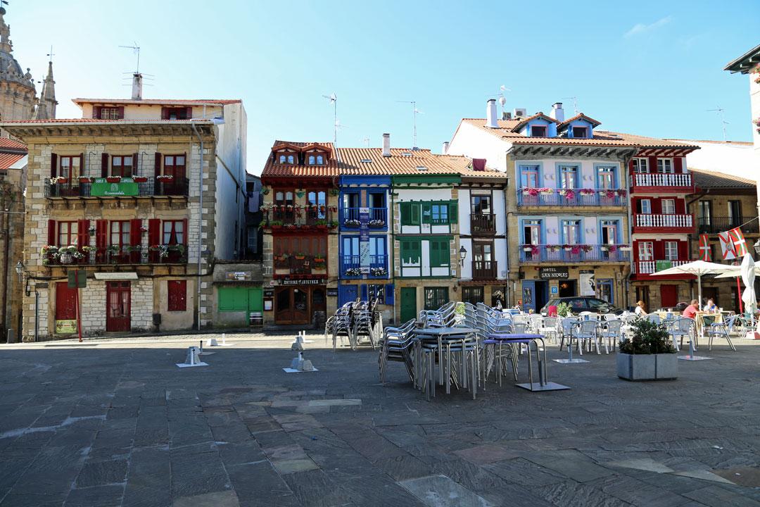 Erste Station unserer Rundreise Nordspanien war Hondarriba Baskenland Spanien