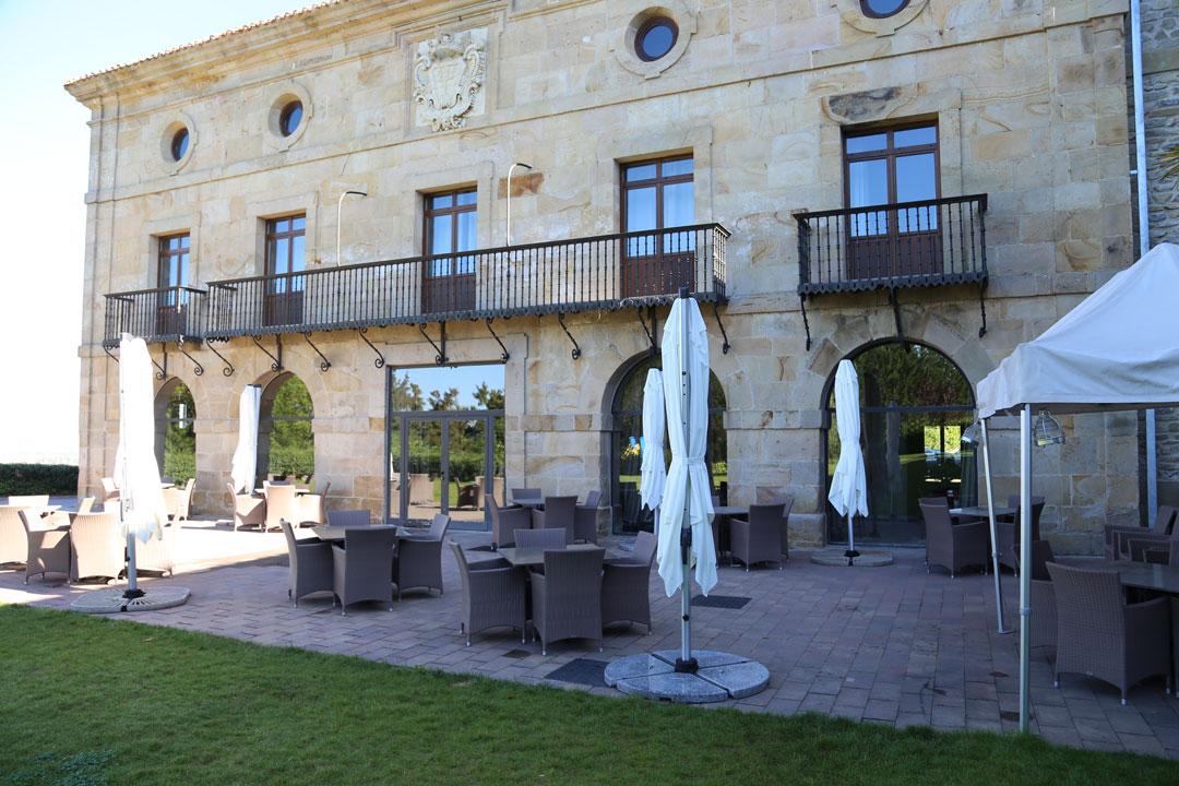 Paradorhotel in Argomaniz Baskenland Spanien