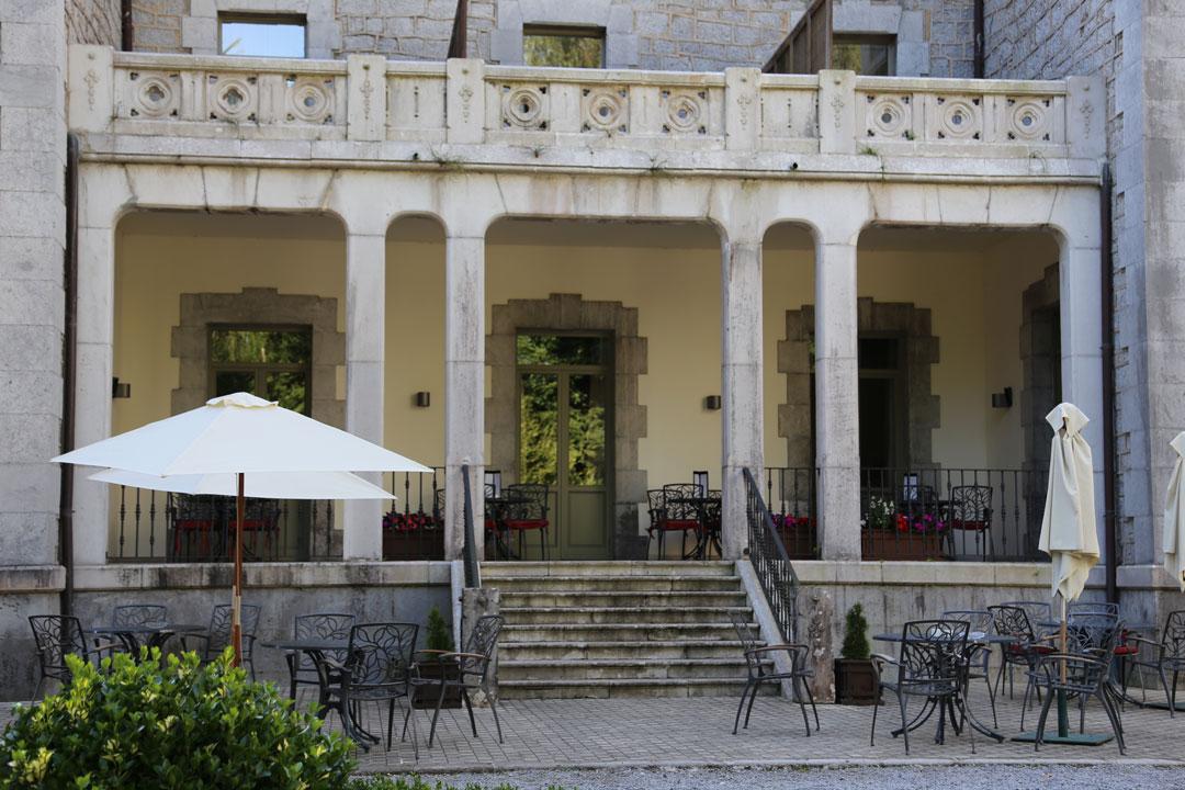 Parado Hotel in Limpias Kantabrien Spanienien