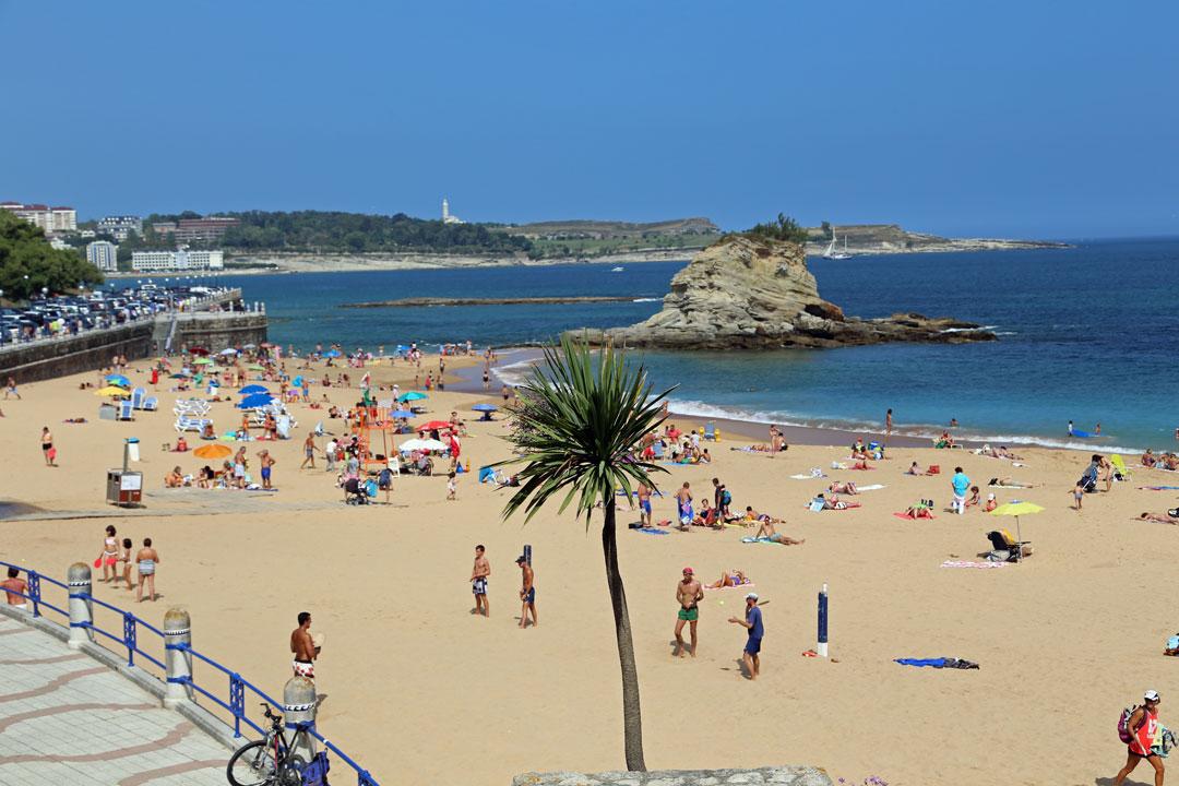 Santander Strand Kantabrien Spanien
