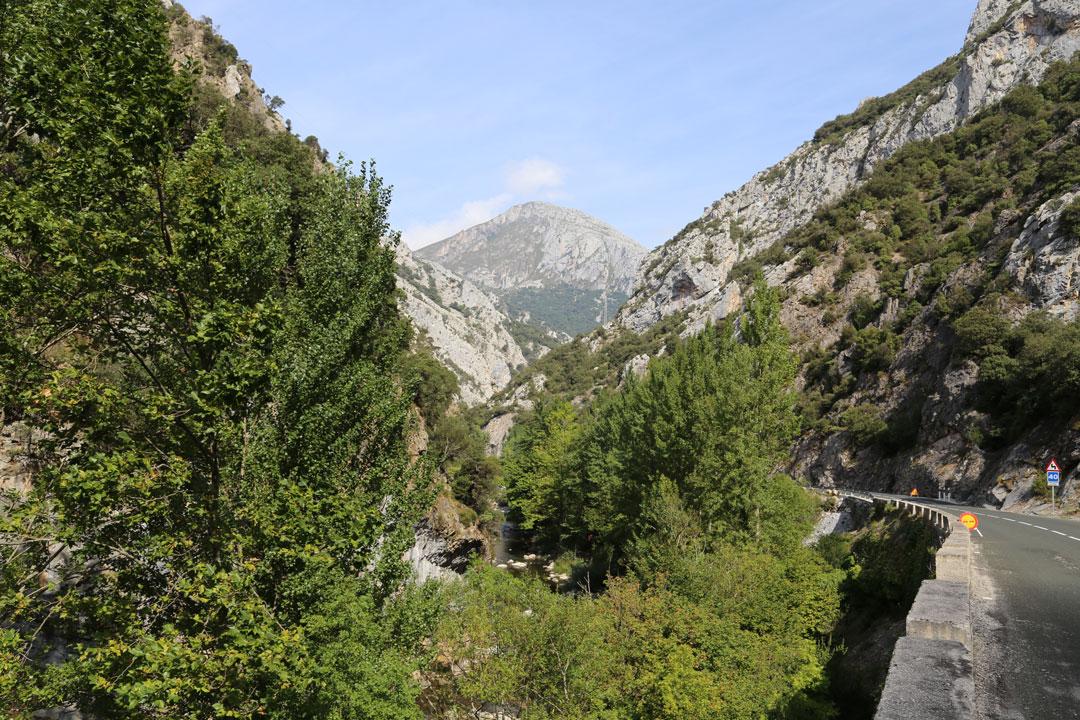 Hermida Schlucht Kalabrien Spanien