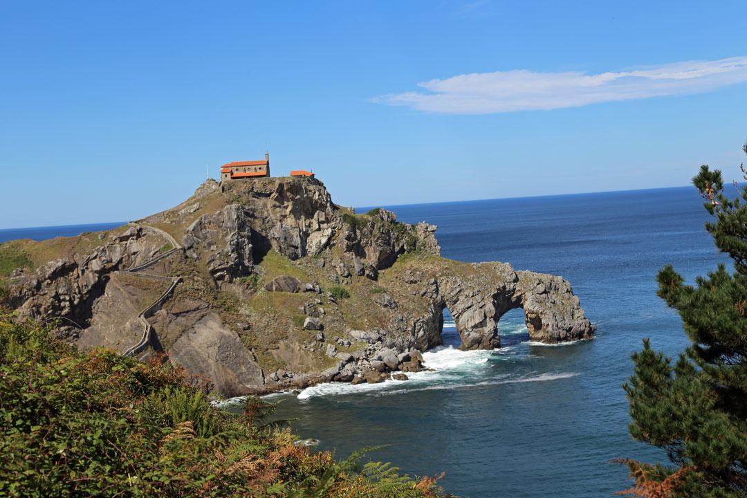 San Juan de Gaztelugatxe Baskenland Spanien