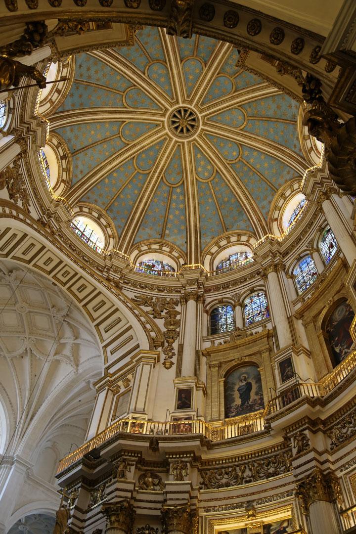 Kuppel Kathedrale Granada Spanien