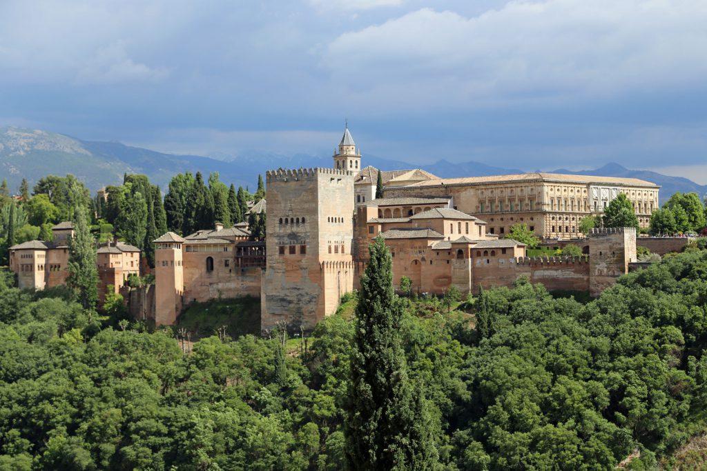 Alhambra Granada Spanien