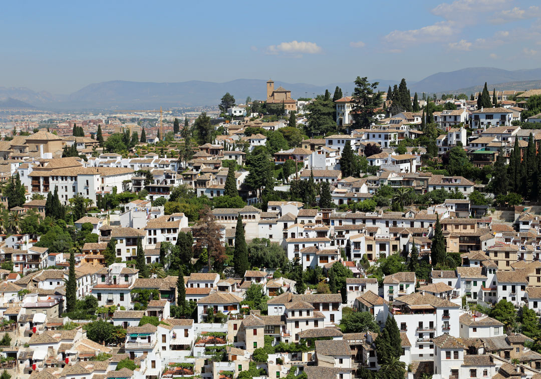 Albayzin Granada Spanien