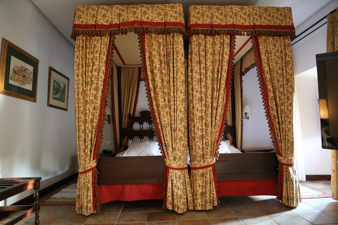 Zimmer Parador Cangas de Onis Asturien Spanien