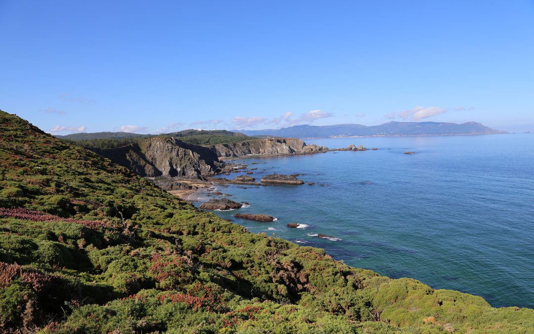 Playa de Esteiro Galizien Spanien