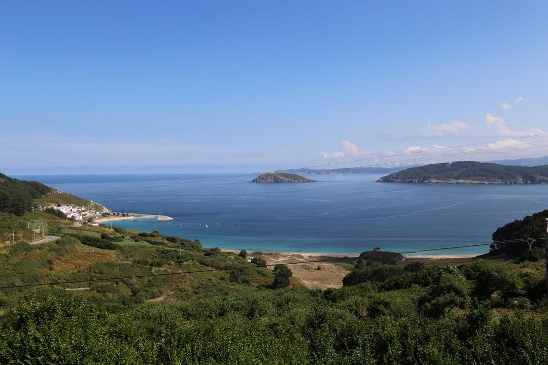 Ria do Barqueiro O Porto de Bares Galizien Spanien