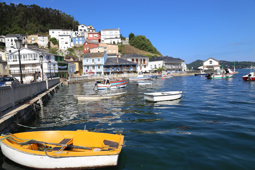 Porto Do Barqueiro Galizien Spanien