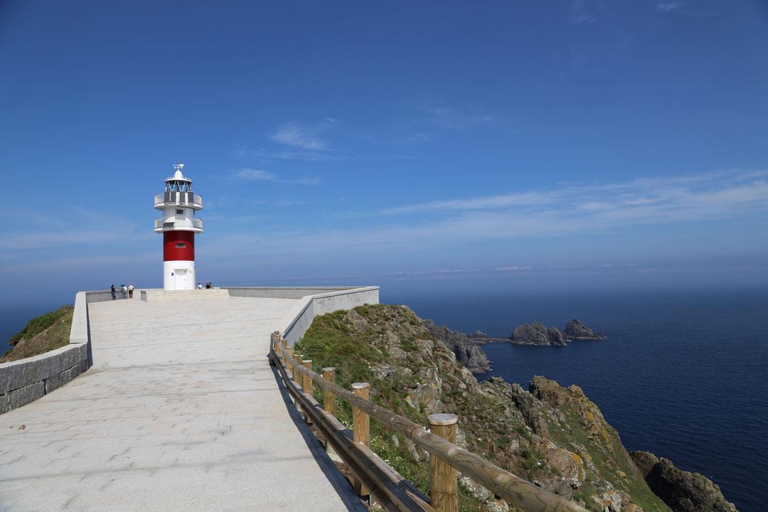 Leuchtturm Kap Ortega Galizien Spanien