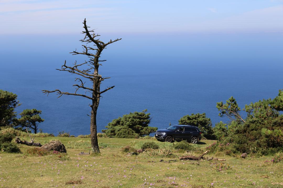 Serra da Capelada Galizien Spanien