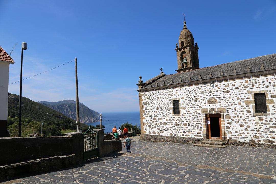 San Andrés de Teixido Galizien Spanien