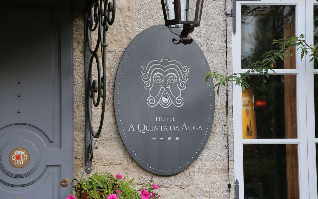 Inneneinrichtung Hotel A Quinta da Auga Santiago de Compostela Galizien Spanien