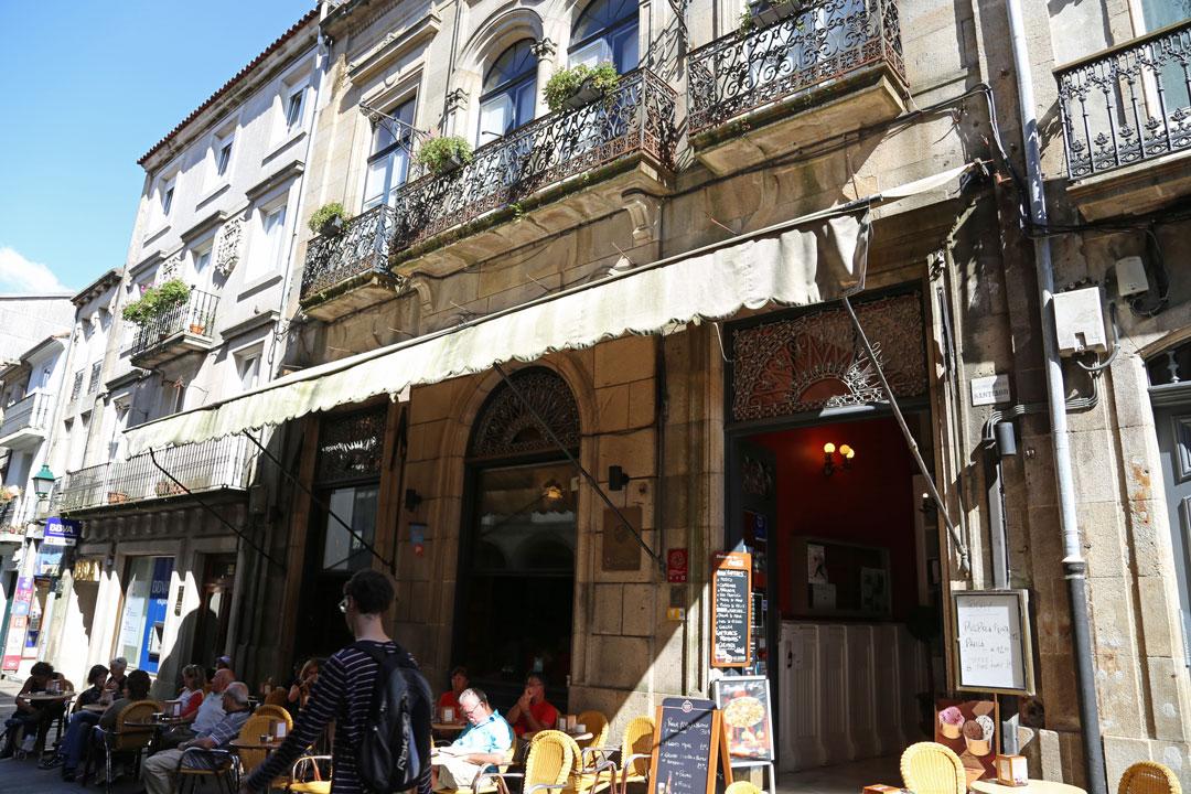 Café Casino Santiago de Compostela Galizien Spanien