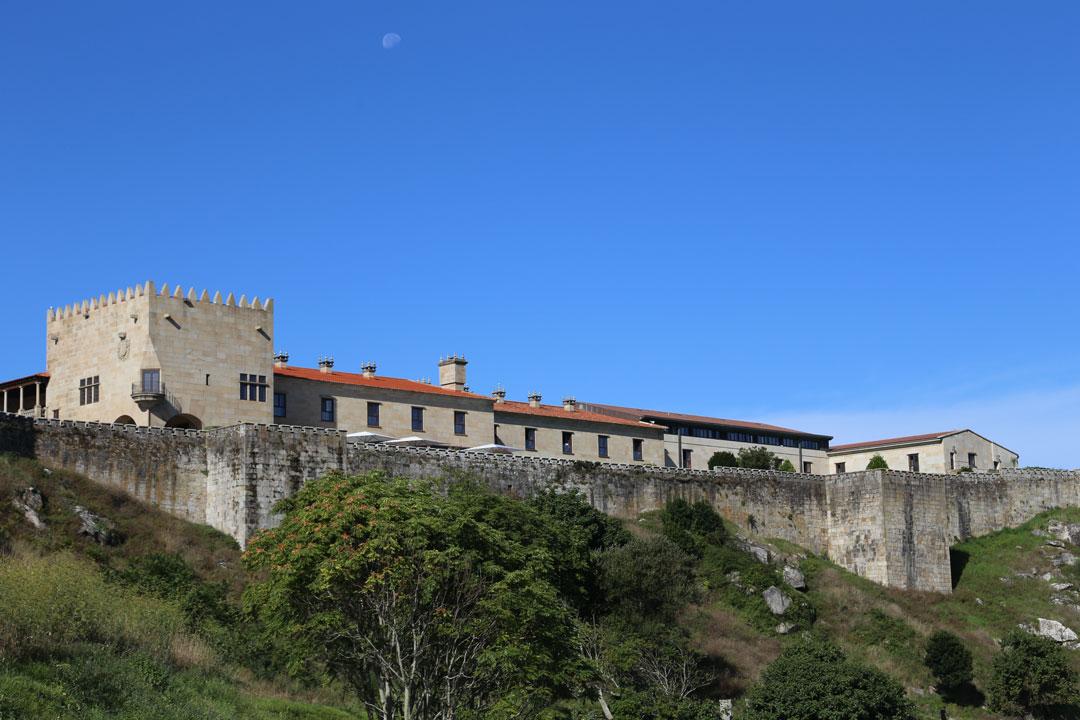 Parador de Baiona Galizien Spanien