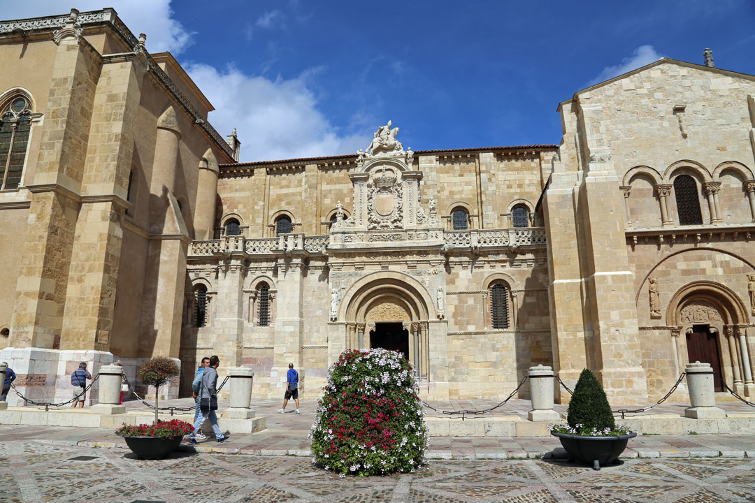 Basilika San Isidoro Leon Kastillien Spanien