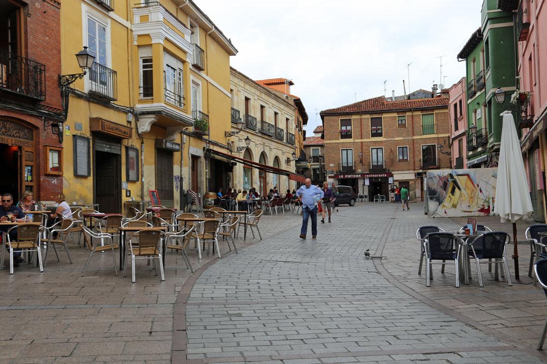 Barrio Humedo Leon Kastillien Spanien