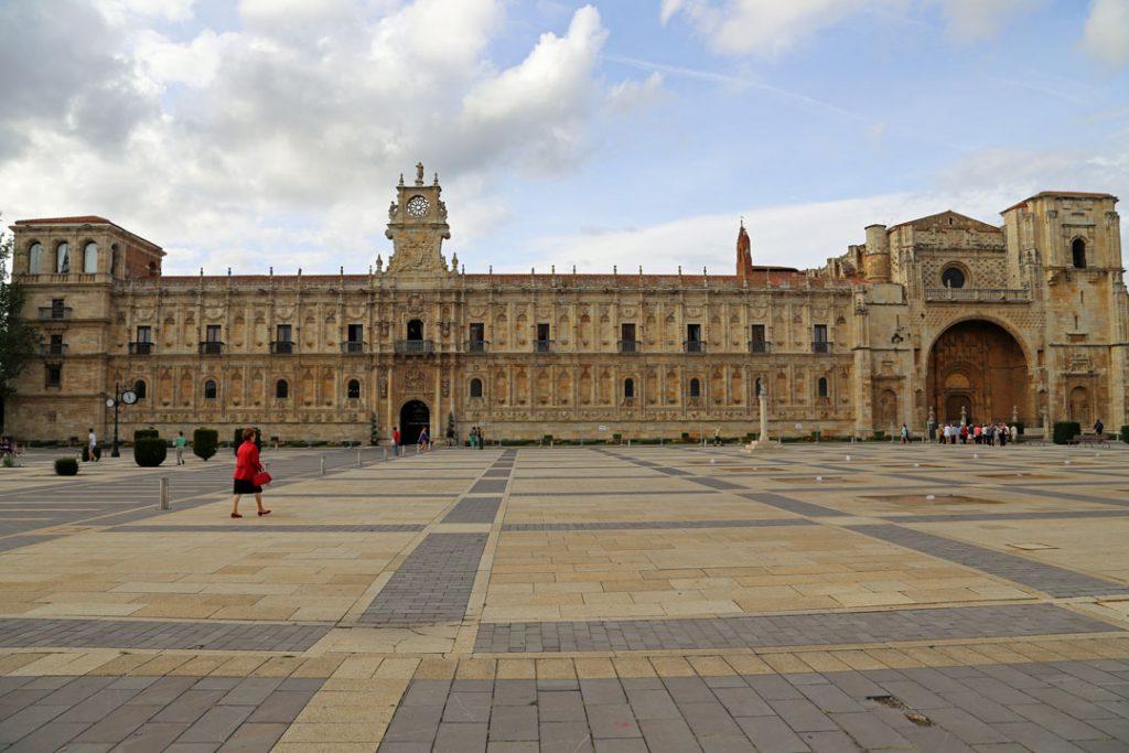 Parador de Leon Kastilien Spanien