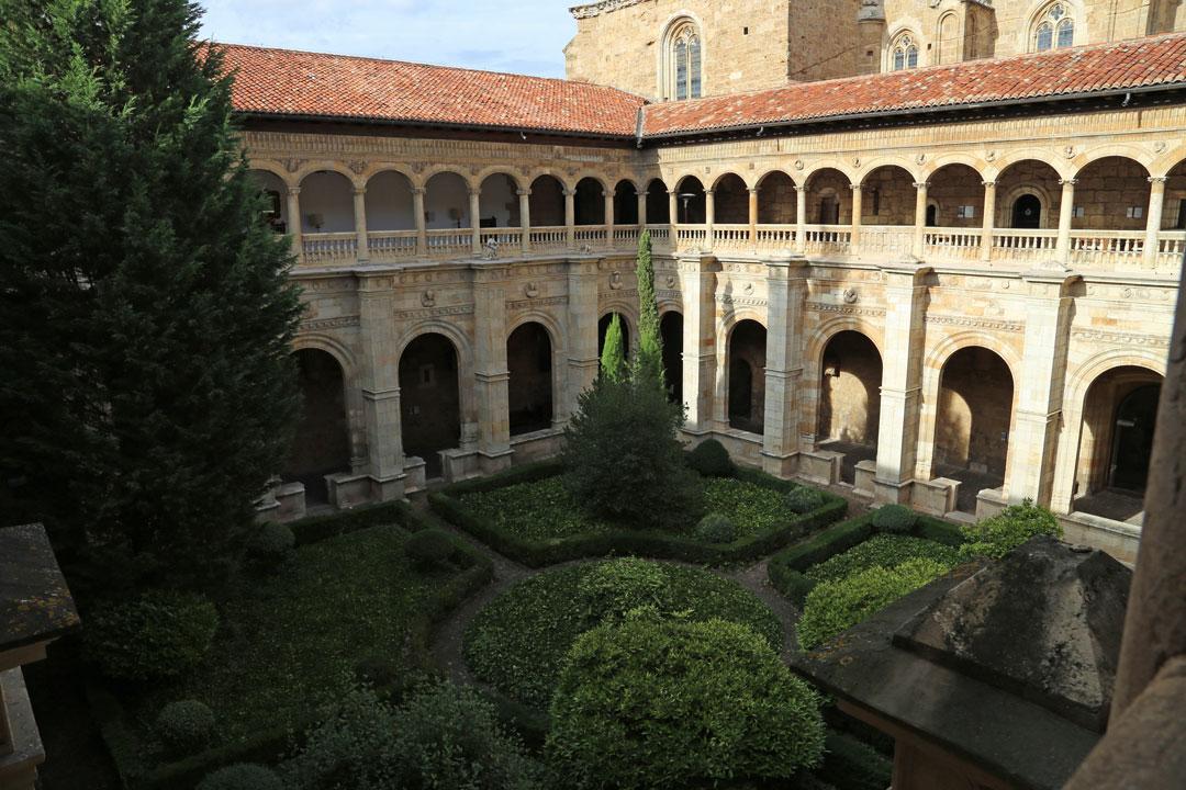 Kreuzgang Parador de Leon Kastilien Spanien
