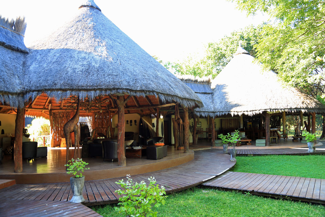 Caprivi Ferien Region Kwando Camp Lobby Namibia