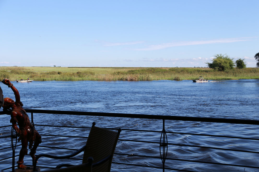 Chobe Safari Lodge Apero Deck Botswana