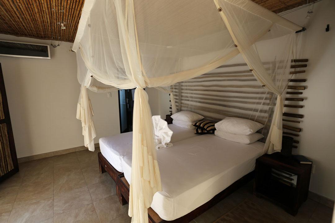 Etosha Nationalpark Okaukuejo Camp obers Schlafzimmer Namibia