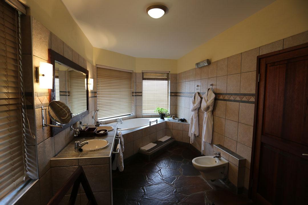 Gocheganas Lodge Badezimmer