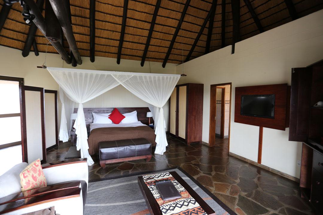 Gocheganas Lodge Zimmer
