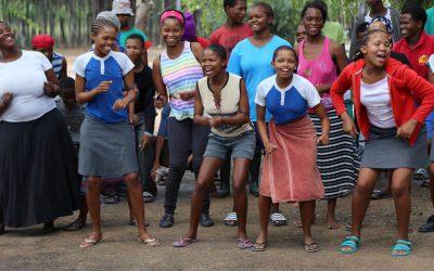 Ombili-Stiftung-Chor-Namibia