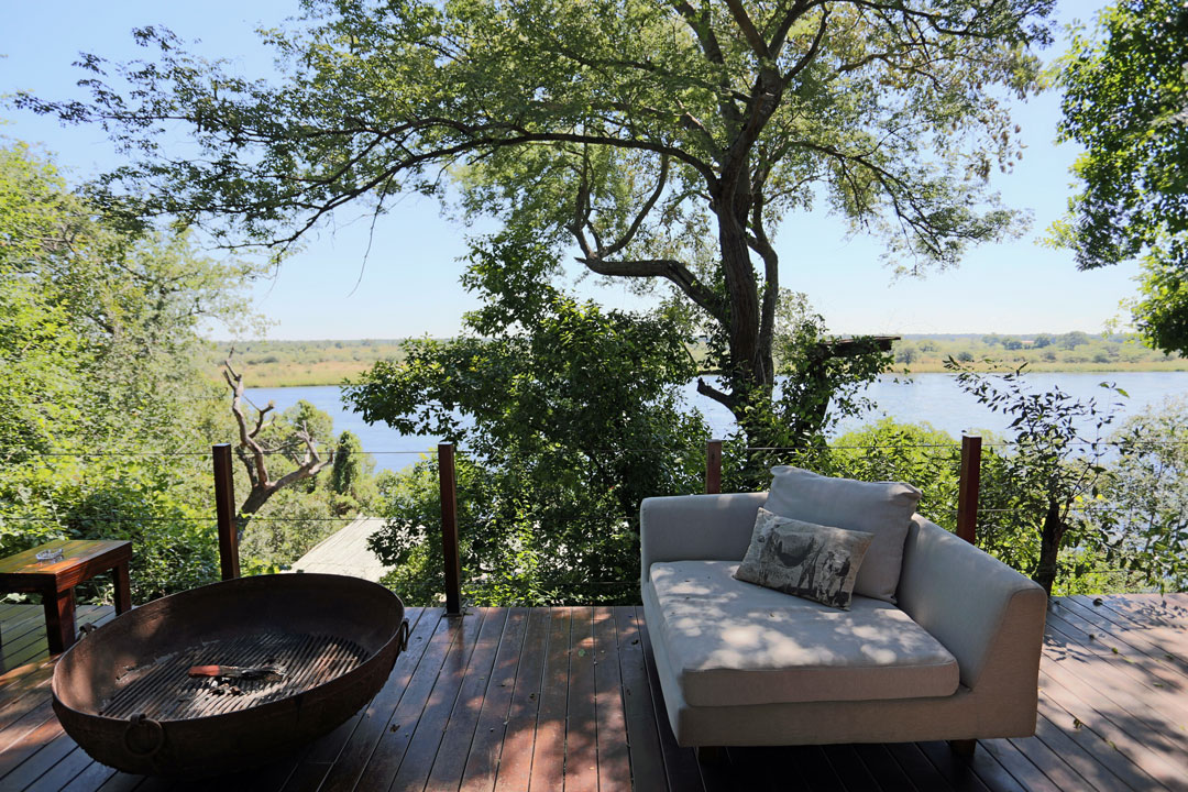 River Dance Lodge Lounge Divundu Namibia