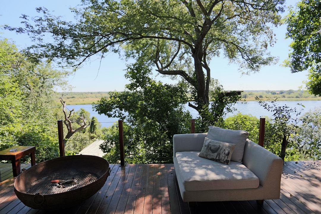 River Dance Lodge Lounge Divundu Namibia
