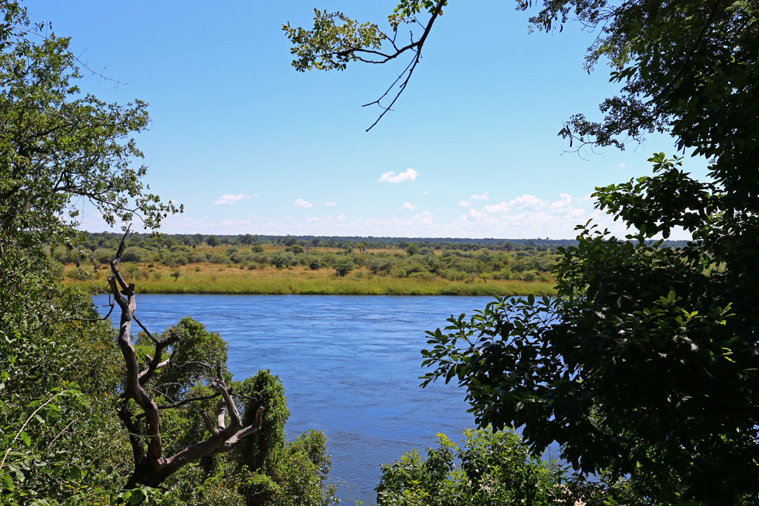 River Dance Lodge Aussicht Namibia