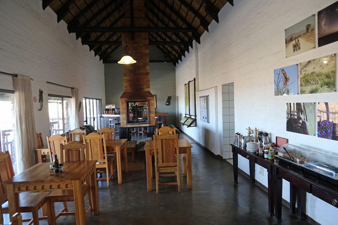Grootberg Lodge Lounge Namibia