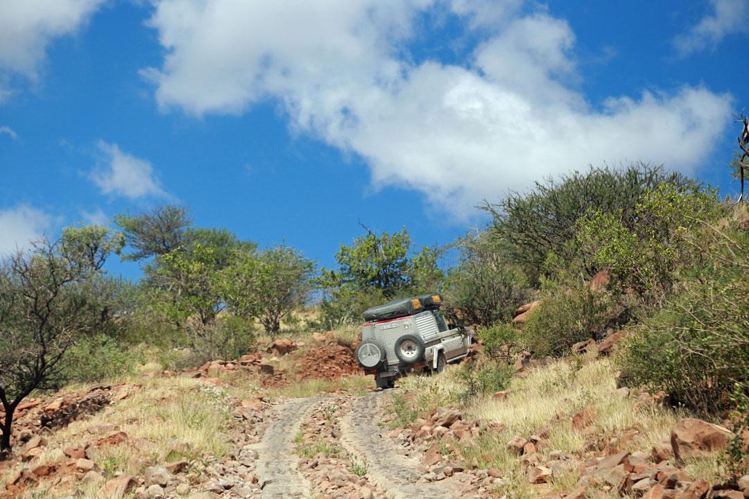 Grootberg Lodge Strasse Namibia