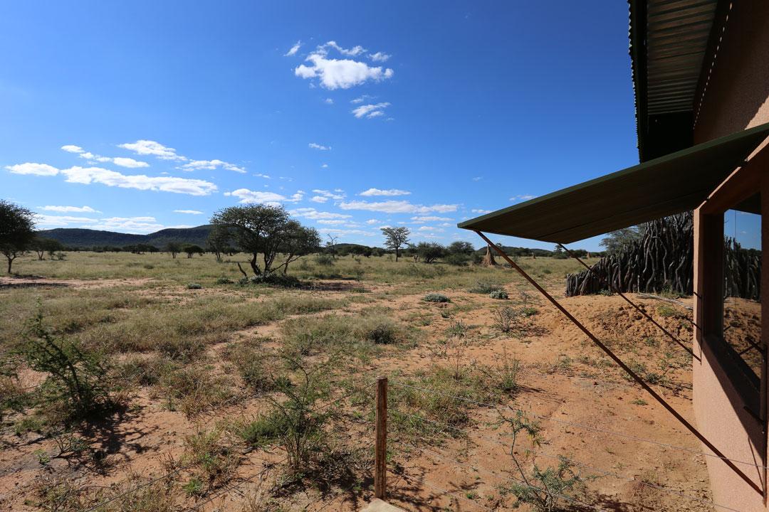 Okonjima Lodge Aussicht Chalet Namibia