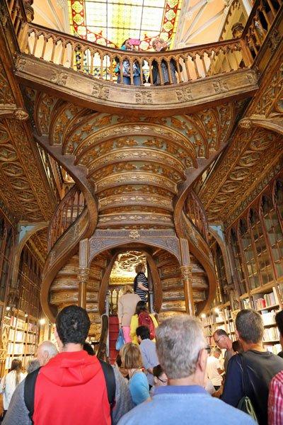 Buchhandlung Lello Porto Portugal