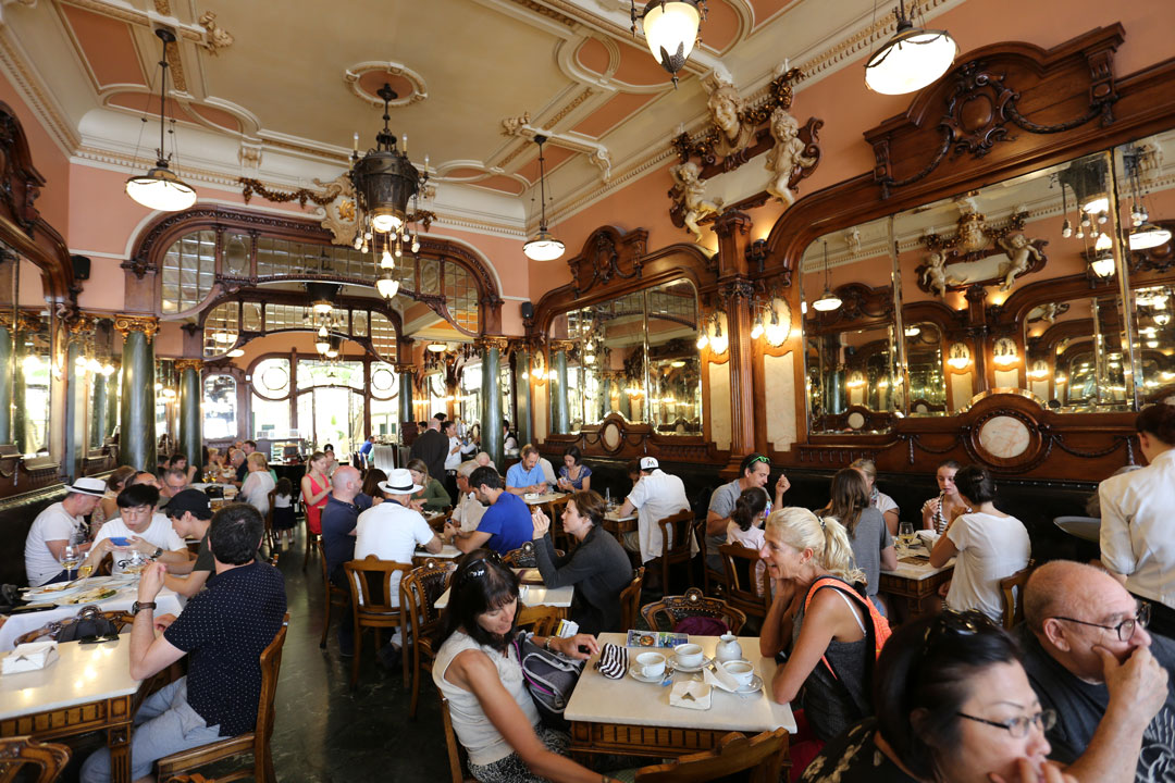 Cafe Majestic Porto Portugal