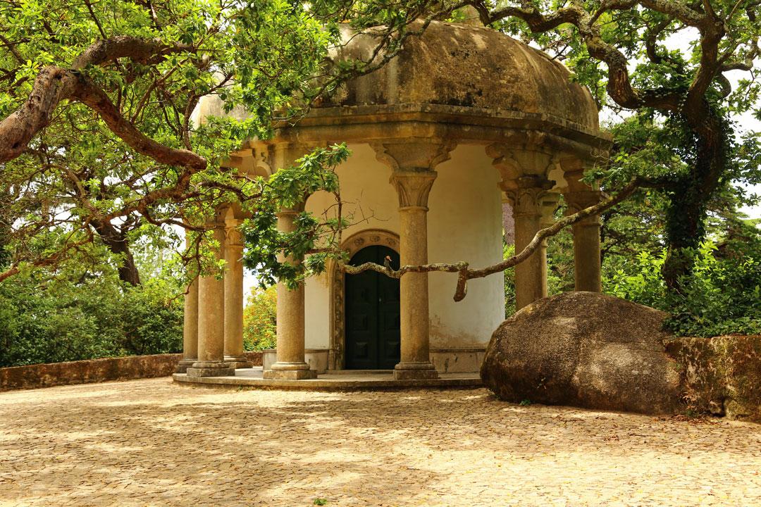 Pena Nationalpalast Pavillion Gartenanlage Sintra Portugal