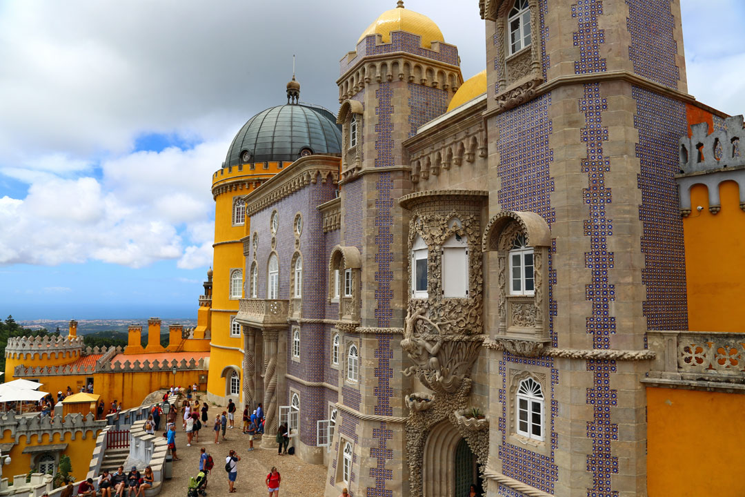 Pena Nationalpalast Sintra Portugal
