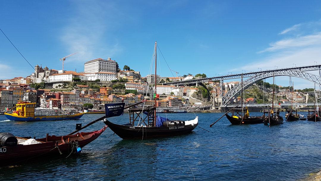 Porto Portweinboote Duoro Portugal