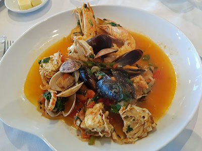 Restaurant Porto Santa Maria Casgais Portugal