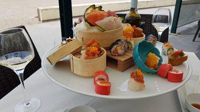 Sushi Restaurant Molhe Praia do Molhe Portugal