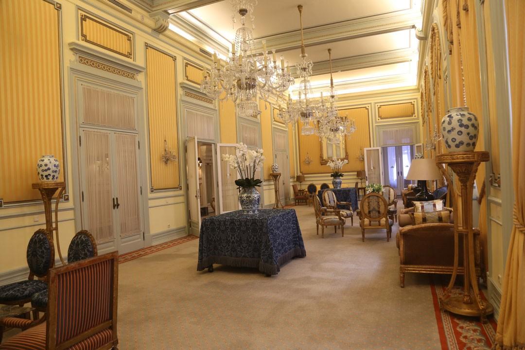 Avenida Palace Hotel Saal Lissabon Portugal