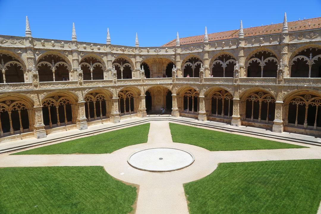 Mosteiro dos Jeronimos Lissabon Portugal