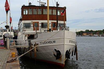 Schiff Stockholm Schweden