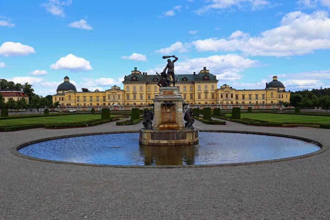 Schloss Drottingholm Stockholm Schweden