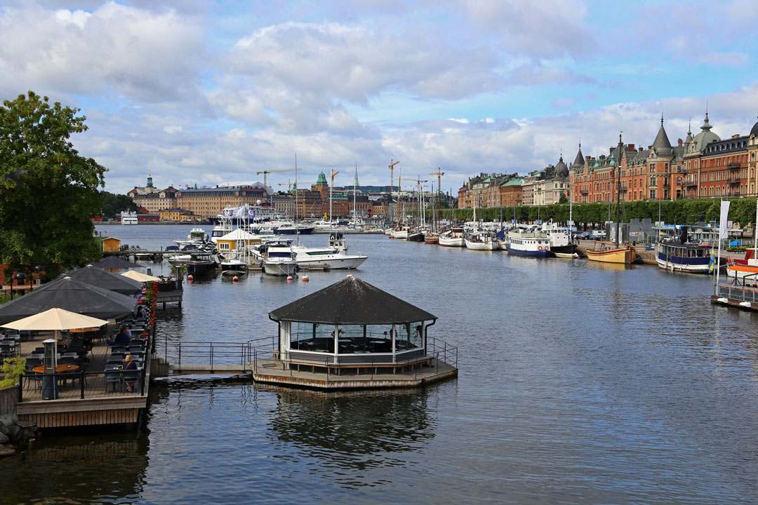 Schifffahrt Schloss Drottinghol Stockholm Schweden