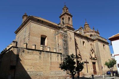 Carmona Kirche Andalusien Spanien